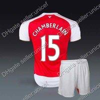 alex kit - Alex Chamberlain club Home Red white Jersey and shorts uniforms soccer jersey football kits soccer kits sportswear