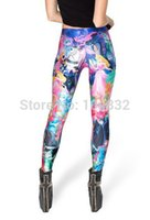 beauty knitted clothing - East Knitting BL Fitness Women Leggings SLEEPING BEAUTY Print Legging Punk Rock Clothes Galaxy Pants