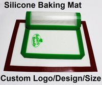 Wholesale non stick silicone baking mat set x food grade custom silicone fibergalss baking Pastry Tool with MOQ DHL free