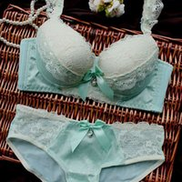 Wholesale Hot sale noble royal women underwear chiffon embroidery luxurious young girl panties bra set