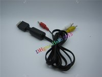 av cable playstation - Free DHL HOTSALE feet M Audio Cable to RCA For sony PlayStation for PS for PS2 for PS3 Video AV
