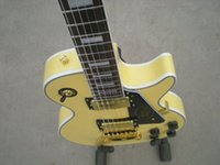 Wholesale 2017 Real Pictures Cream LP Custom Electric Guitar Ebony Fretboard Custom Guitar Kits Available
