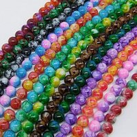6mm glass beads - Hot mm Loose Round Chic Glass Spacer Beads Pick Color Or Mixed DIY