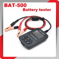 w bats electrical - Original BAT BAT500 V Auto Battery Tester BAT500 Automotive Electrical Battery Analyser For Car Train Bicycles Free Ship