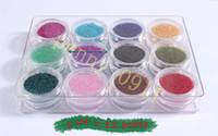 Wholesale HOT SELLING SET Bottle mix Color Nail Art Glass Beads Caviar Nails Glass Beads Nails Decoration DIY Nail Tools X027
