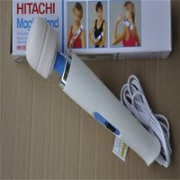 Wholesale 2015 Hitachi Magic Wand Massager AV Vibrator Massager Personal Full Body Massager HV R V one piece