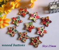 mix Eco-Friendly,Dry Cleaning,Washable,Nicke 25mm 200pcs wooden buttons 25mm mix colorful star shapes clothes scrapbook button for craft sewing scrapbooking accessories