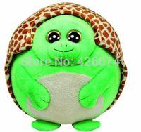 beanie ballz turtle - New Original Ty Beanie Ballz Zoom The Turtle Big Eyed Stuffed Animals Plush Toys For Children Gifts Kids Toys