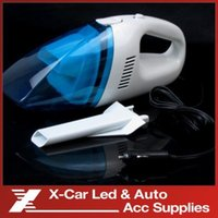 Wholesale Mini Auto DC V W portable Handheld High Power Car Vacuum cleaner dry wet amphibious Freeshipping