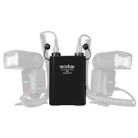 Wholesale Godox PROPAC PB960 Dual Output Speedlite Flash Power Battery Pack mAh for Canon Nikon Camera US Plug Black