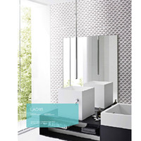 Wholesale Swimming pool Parquet classic design glass mosaic tiles for Bathroom bedroom lobby TV background wall tiles