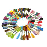 Wholesale Anchor Cross Stitch Cotton Embroidery Thread Floss Sewing Skeins Craft