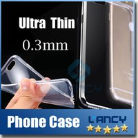 Wholesale TPU cases For Iphone S plus SE transparent Crystal Clear soft gel Silicon ultra thin Case For Samsung galaxy S7 S6 note5
