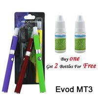 Cheap Evod MT3 Starter Kit Cigarette Electronic Cigarette Smoking Portable Vaporizer Vape Pen Mod Blister 1100mAH Changeable Coils