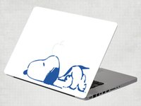 Wholesale Snoopy Removable Vinyl Decal Sticker Skin for Apple Macbook Air Pro inch
