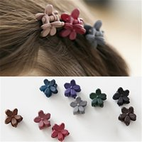 Wholesale Hair accessories polygonal flower hairclips baby girl hair clip baby kids Bangs hairpins children hair accessories Bangs