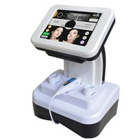Wholesale Portable High Intensity Focused Ultrasound HIFU Ultrasonic RF Facial Care Machine Anti wrinkle beauty equipment