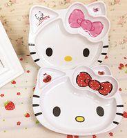 Wholesale 2015 New Arrive Hello Kitty Dish Children Cute Plate