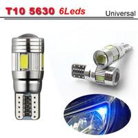 big blue bulb - Big Promotion LED car Light T10 W5W leds SMD Canbus Led Bulb NO OBC ERROR Car side wedge DC V