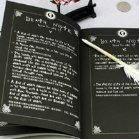 Wholesale Death Note Notebook Ryuuku Quill Pen Set of Collector s Japan Anime Writing Journal Dairy book
