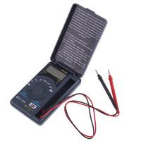 Wholesale Mini portable Auto Range Digital Multimeter Cassette Digital Meter XB with V A Hz REL CAP HOLD