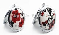 Wholesale Popular Style Gorgeous Ceramic Cosmetic Mirror Best Selling Pocket Mirror
