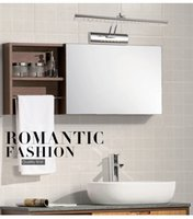 led bathroom mirror - led mirror lamp for bathroom mirror front lights wall mounted W W waterproof V stainless spotlight