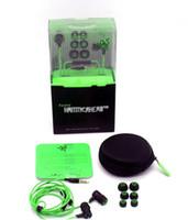 headphone pro - 2016 Razer Hammerhead Pro In Ear Earphone Headphone With Microphone Retail Box Gaming Headset Noise Isolation Stereo Bass mm