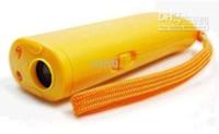 Wholesale 100pcs Ultrasonic Dog Deterrent Bark Stopper Dog Repeller TRAINING REPELLER LED light