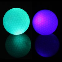 golf balls - Flashing Electronic Golf Balls Night Golfing Blue Green Good Quality Hot New