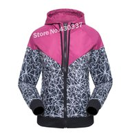 Wholesale New Spring Autumn Thin Women Windbreaker Breathable Climbing Outdoor Casual Zipper Jackets Sports Coat