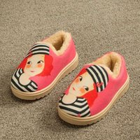 best baby shoe brands - Children Shoes Real Rushed Best selling Brand Of Cotton Slippers Cartoon Mop Warm Winter Home Baby Shoes