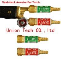 acetylene torch set - Flashback Arrestor Gas Welding Cutting Torch Safety Valve for oxygen acetylene Torch Set Propane LPG Gas Torch Sets