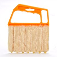 best window blinds - New Multifunctional Orange Feather Dusters Dust Cleaning Brush For Blinds Best Deal sv16 SV009657