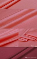 Wholesale new jersey linen ramie knit fabric pink summer top dress blouse fabric
