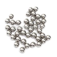 Wholesale 100PCS mm Bike Replacing Parts Wheel Bearing Steel Balls Bicyle Gray For Slingshot Hunting Replacement Catapult Outdoor order lt no track