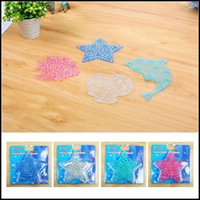 Wholesale Baby Safety Removable Bathroom Mats Cartoon Bathtub Anti Skid Pad Shower Room Suction Cup DHL MOQ SVS0298