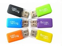 Wholesale Hot Whistle shaped USB T flash Memory Card Reader TF Card Micro SD Card Reader