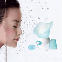 Wholesale 2015 New Arrival TOPPEST Thermal Facial Sauna Spa Sprayer Skin Renewal Refresh Mist Warm Steam Homehold Travel Face Steamer