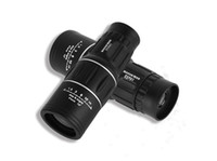 Cheap 2015 Hunting Telescope Generation Monocular Telescope Dual Focus 16X52 Zoom Telescope LLL Night Vision 66-1000M Field Travel tools S557L
