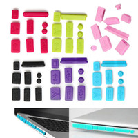 Wholesale 9Pcs Silicone Anti Dust Plug Ports Cover Set for Laptop Macbook Pro Nice