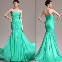 Cheap Green Evening Gowns Best mermaid Evening gowns