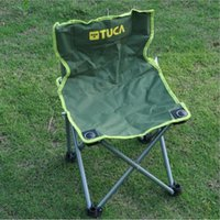 Wholesale Fishing Outdoor Breathable Backrest Folding Chairs Rugged Portable Chair Outing Outdoor Beach Portable Leisure Stool Jiankua Portable Fishin