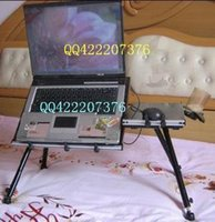 Wholesale Usb lamp piano multifunctional mount double desktop laptop desk bed desk folding table
