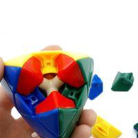 Wholesale Kids Twist Toys Magic Cube Pyramid Pyramorphix x3x3 Cubo Magico MagicCube Stickerless Mastermorphix Puzzle Cubes ABS Plastic