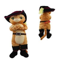 authentic dolls - Shrek Puss In Boots cm Authentic Soft Plush Toy Doll
