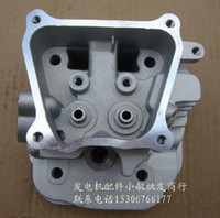 aftermarket replacement parts - REPLACEMENT CYLINDER HEAD FITS CHINESE MODEL F ENGINE FREE POSTAGE GAS GENERATOR CHEAP ZYLINDER AFTERMARKET PARTS