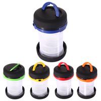Wholesale 5 Colors Camping Lantern Collapsible Flashlight Led Lantern Light Weight PTSP