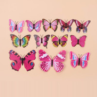 Wholesale Charming Wall Stickers Beauty Home Decor Butterfly D Kids Room Living Room Decoration ZYQ1