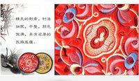 antique coasters - National Chinese Style embroidery Coasters free gift